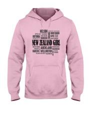 NEW ZEALAND GIRL AND CITY Hooded Sweatshirt thumbnail