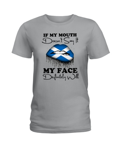 SCOTLAND GIRL MY FACE DEFINITELY WILL