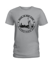 MADE IN NEW YORK A LONG TIME AGO Ladies T-Shirt thumbnail