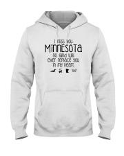 I MISS YOU MINNESOTA Hooded Sweatshirt thumbnail