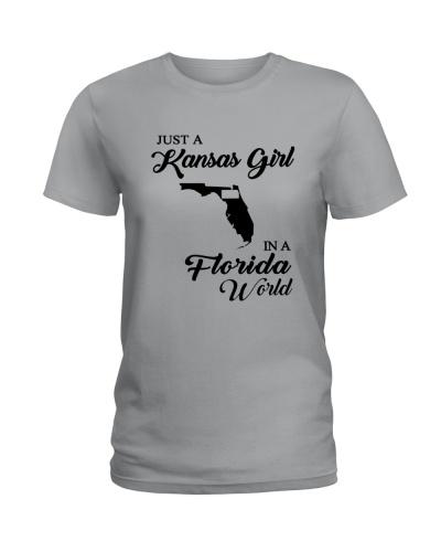 JUST A KANSAS GIRL IN A FLORIDA WORLD