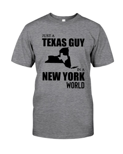 JUST A TEXAS GUY IN A NEW YORK WORLD