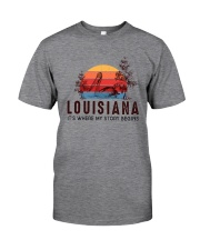 LOUISIANA IT'S WHERE MY STORY BEGINS Classic T-Shirt front