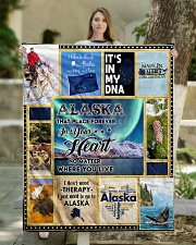 """ALASKA IT'S IN MY DNA Quilt 50""""x60"""" - Throw aos-quilt-50x60-lifestyle-front-03"""