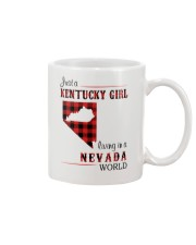 KENTUCKY GIRL LIVING IN NEVADA WORLD Mug thumbnail