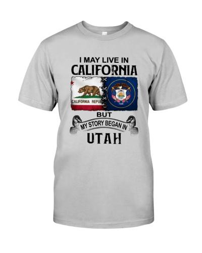 LIVE IN CALIFORNIA BEGAN IN UTAH