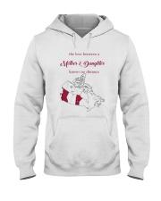 MANITOBA BRITISH COLUMBIA LOVE A MOTHER DAUGHTER Hooded Sweatshirt thumbnail