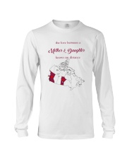 MANITOBA BRITISH COLUMBIA LOVE A MOTHER DAUGHTER Long Sleeve Tee thumbnail