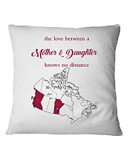 MANITOBA BRITISH COLUMBIA LOVE A MOTHER DAUGHTER Square Pillowcase thumbnail