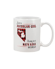 MICHIGAN GIRL LIVING IN NEVADA WORLD Mug thumbnail