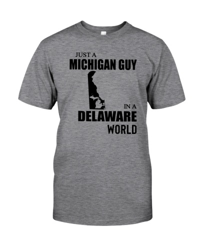 JUST A MICHIGAN GUY IN A DELAWARE WORLD