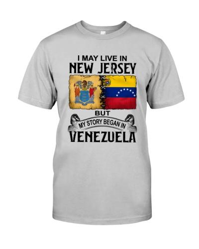 LIVE IN NEW JERSEY BEGAN IN VENEZUELA