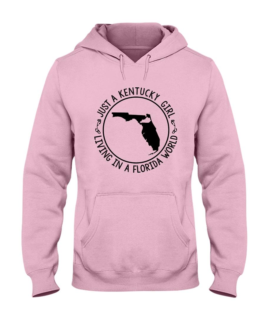 KENTUCKY GIRL LIVING IN A FLORIDA WORLD Hooded Sweatshirt