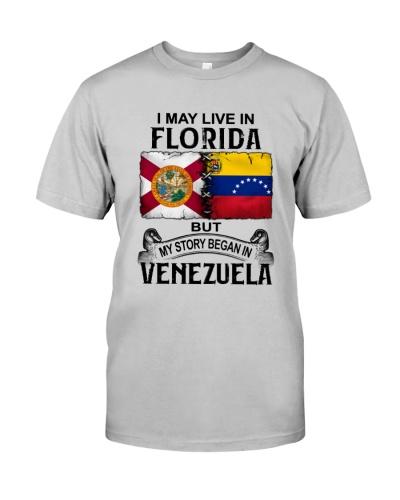 LIVE IN FLORIDA BEGAN IN VENEZUELA