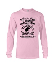 THIS WEST VIRGINIA GIRL HAS 3 SIDES Long Sleeve Tee thumbnail