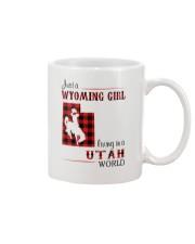WYOMING GIRL LIVING IN UTAH WORLD Mug thumbnail