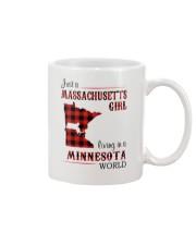 MASSACHUSETTS GIRL LIVING IN MINNESOTA WORLD Mug thumbnail