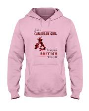 CANADIAN GIRL LIVING IN BRITISH WORLD Hooded Sweatshirt thumbnail