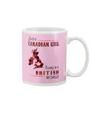CANADIAN GIRL LIVING IN BRITISH WORLD Mug thumbnail