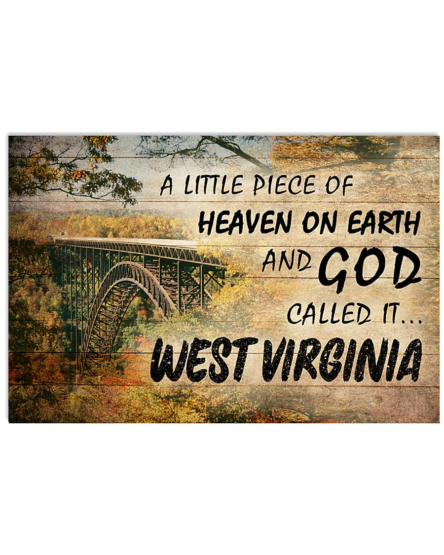 GOD CALLED IT WEST VIRGINIA 24x16 Poster