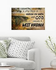 GOD CALLED IT WEST VIRGINIA 24x16 Poster poster-landscape-24x16-lifestyle-01