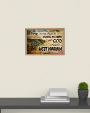 GOD CALLED IT WEST VIRGINIA 24x16 Poster poster-landscape-24x16-lifestyle-09