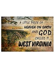 GOD CALLED IT WEST VIRGINIA Horizontal Poster tile