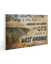 GOD CALLED IT WEST VIRGINIA 30x20 Gallery Wrapped Canvas Prints thumbnail