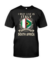 LIVE IN ITALY MY STORY IN SOUTH AFRICA Classic T-Shirt front