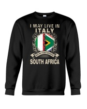 LIVE IN ITALY MY STORY IN SOUTH AFRICA Crewneck Sweatshirt thumbnail