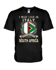 LIVE IN ITALY MY STORY IN SOUTH AFRICA V-Neck T-Shirt thumbnail