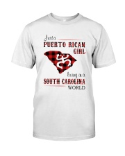 PUERTO RICAN GIRL LIVING IN SOUTH CAROLINA WORLD Classic T-Shirt tile