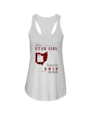 UTAH GIRL LIVING IN OHIO WORLD Ladies Flowy Tank thumbnail