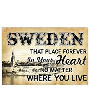 SWEDEN THAT PLACE FOREVER IN YOUR HEART 17x11 Poster front