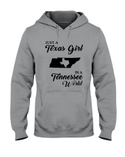 JUST A TEXAS GIRL IN A TENNESSEE WORLD Hooded Sweatshirt thumbnail