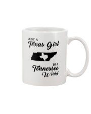 JUST A TEXAS GIRL IN A TENNESSEE WORLD Mug thumbnail