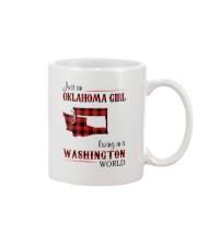 OKLAHOMA GIRL LIVING IN WASHINGTON WORLD Mug thumbnail