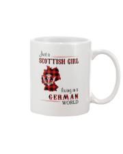 SCOTTISH GIRL LIVING IN GERMAN WORLD Mug thumbnail