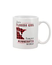 FLORIDA GIRL LIVING IN MINNESOTA WORLD Mug thumbnail
