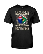 LIVE IN NEW ZEALAND MY STORY IN SOUTH AFRICA Classic T-Shirt front