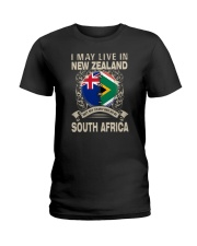 LIVE IN NEW ZEALAND MY STORY IN SOUTH AFRICA Ladies T-Shirt thumbnail