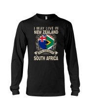 LIVE IN NEW ZEALAND MY STORY IN SOUTH AFRICA Long Sleeve Tee thumbnail