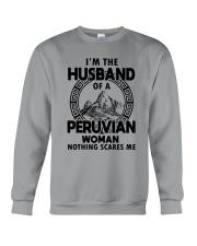 I'M THE HUSBAND OF A PERUVIAN WOMAN Crewneck Sweatshirt thumbnail