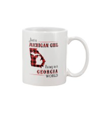 MICHIGAN GIRL LIVING IN GEORGIA WORLD Mug thumbnail