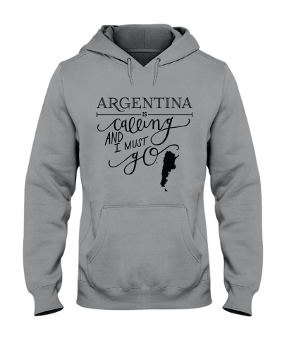 ARGENTINA IS CALLING AND I MUST GO