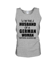 I'M THE HUSBAND OF A GERMAN WOMAN Unisex Tank thumbnail