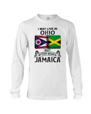 LIVE IN OHIO BEGAN IN JAMAICA Long Sleeve Tee thumbnail