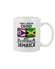 LIVE IN OHIO BEGAN IN JAMAICA Mug thumbnail