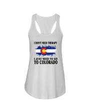 DON'T NEED THERAPY I JUST NEED TO GO TO COLORADO Ladies Flowy Tank thumbnail