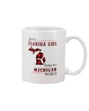FLORIDA GIRL LIVING IN MICHIGAN WORLD Mug thumbnail
